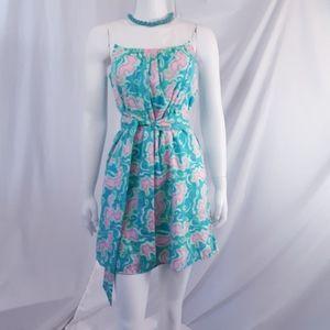 Lilly Pulitzer - sea horse beach dress
